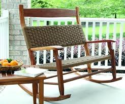outside rocking chair outdoor rocking chair brown