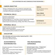 Sample Resume For Fresh Graduate Accounting In Malaysia New Example Inspirationa