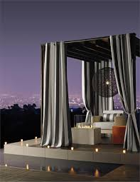 Sunbrella Curtains With Grommets by Outdoor Curtain Panels Inspiration Homesfeed