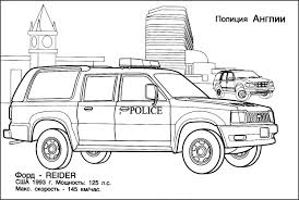 Police Car Coloring Pages New Page Free Printable Fo 30062 Downloads