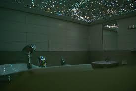 sternenhimmel badezimmer decke mit milchstraße mycosmos