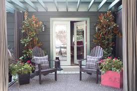 Screened In Porch Decorating Ideas by Fall Porch Decorating Ideas Hgtv