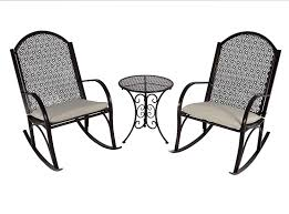 Amazon.com: Outdoor Patio Rocking Chair Garden Set With Cushions ... Hanover Outdoor Orleans 5piece Porch Rocker Set With Cherry Red Retro Patio 3 Pc Metal Rocking Chair Tortuga Portside Plantation Dark Roast 3piece Wicker White Plastic Chairs Cr Generation The Classic All Weather Bayview Magnolia Art Epicenters Austin Paint Darrow Polywood Jefferson Pwrockerset3 Fniture 3pc Lazboy Avery Piece Bistro In Blue Kmart