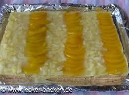ananas pfirsich kuchen