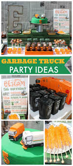 Garbage Trucks And Street Sweepers / Birthday