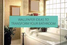 wallpaper ideas to help transform your bathroom qs supplies