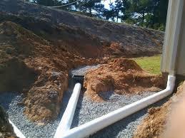 crawl space encapsulation diy how to install drain in bat