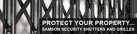 Sliding Patio Door Security Bar Uk by Seceuroguard 1000 Security Shutters And Grilles From Samson