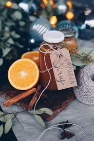 weihnachtlichen orangensirup selbermachen geschenke aus