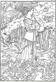 Dover Coloring Book Color Your Own Victorian Fairy Paintings