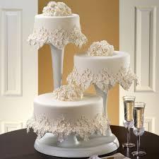 Stunning Design 3 Tier Wedding Cake Stand Smart Idea Pillar Wilton