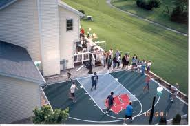 Backyard Courts   Lake Shore Sport Court Basketball Court Tiles At Basketblgoalscom Years Of Neighbor Conflict Over Children Playing Sketball Leads Multisport Court Backyardcourt Backyard Hopskotch Backyard Sport Cost With Surfaces This Is A Forest Green And Red Concrete Usa Iso Ps2 Isos Emuparadise Midwest Sport Specialists In Draper Utah 2007 Youtube Synlawn Partners With Rhino Sports To Offer Systems Multisport System Photo Gallery