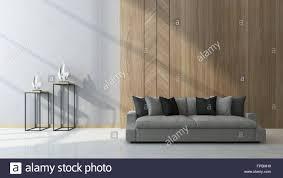modernes wohnzimmer mit holz verkleidet als ein merkmal an
