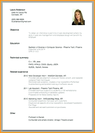 Current Resume Examples Simple Job Sample Of Format Resumes Also 8 Professional Trends 2016