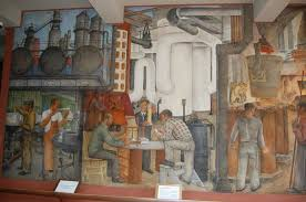 coit tower interior murals picture of coit tower san