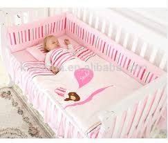 Baby Pink Bedding Sets Crib Bumper Pads Buy Crib Bumper Pads