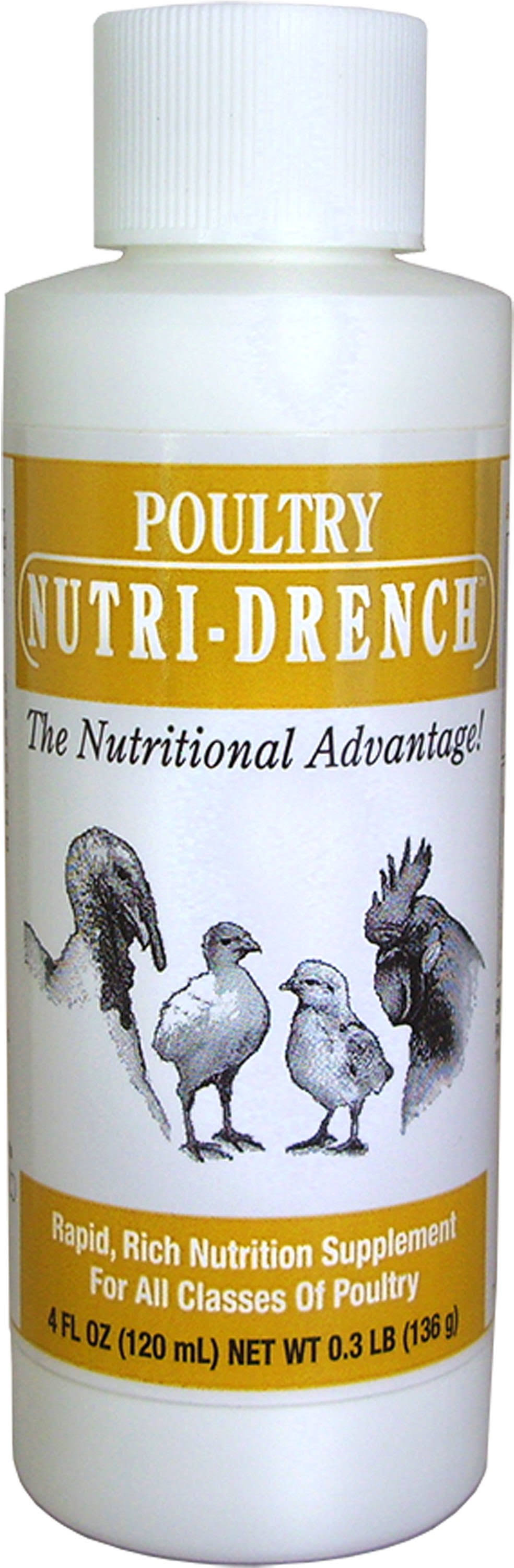 Poultry Nutri-Drench Nutrition Supplement
