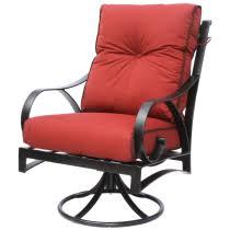 Cast Aluminum Patio Furniture With Sunbrella Cushions by Berkshirepatio Swivel Rocker Patio Furniture