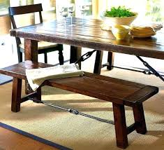 Dining Room Bench With Back Table Endearing Settee