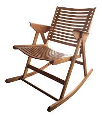 Niko Kralj Vintage Rex Folding Rocking Chair Antique Folding Oak Wooden Rocking Nursing Chair Vintage Tapestry Seat In East End Glasgow Gumtree Britain Antique Rocking Chair Folding Type Wooden Purity Beautiful Art Deco Era Woodenslatted Armless Elegant Sewing Side View Isolated On White Victorian La20276 Loveantiquescom Rocksewing W Childs Upholstered Solid Wood And Fniture Of America Betty San Francisco 49ers Canvas Original Box