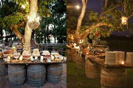 Rustic Wedding Reception Decorations Uniqueness Of