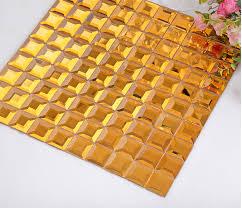 Mirror Tiles 12x12 Gold by Mirror Tiles Creative Mirror Tiles For Walls Smg14 Tiles Glass