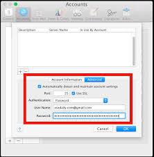 Fix SMTP Mail sending problems in Mac OS X Mail app