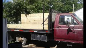 100 Wood Truck Bed Plans Building Wooden Sides For A Flat Bed Truck YouTube