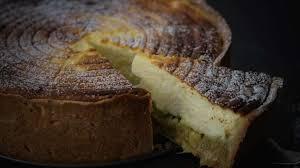 cuisiner la rhubarbe käsekuchen tarte au fromage blanc à la rhubarbe je vais vous