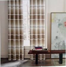 Tommy Hilfiger Curtains Special Chevron by Tommy Hilfiger Bighorn Stripe Brown Tan Ombre Window Curtain