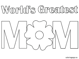 Full Image For I Love You Mom Coloring Pictures Mommy And Daddy