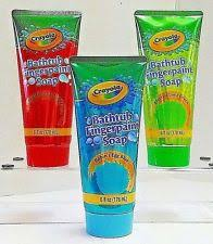crayola bathtub fingerpaint soap colors may vary 6 oz ebay