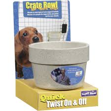 Chewproof Dog Bed by Happy Home Pet Products Crate Bowl For Small Dogs 1 Ct Walmart Com