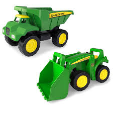 Tomy Big Scoop John Deere Dump Truck And Tractor - LP68844 ...