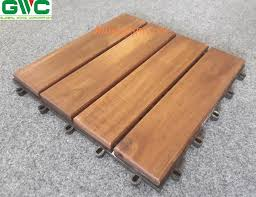 acacia wood anti slip interlocking deck tiles from from