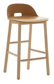 chaise haute b b pour bar chaise de bar design scandinave corail corail chêne siwa tables