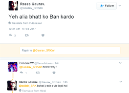 Pakistan s Raees ban is NOT going down well with fans ment