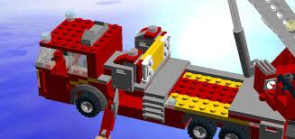 100 Lego Fire Truck Instructions City Ladder