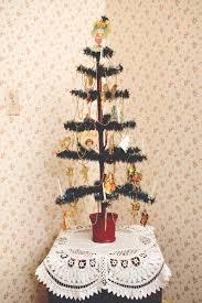 Antique Artificial Christmas Tree
