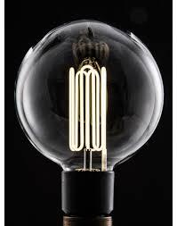 eco filament globe energy efficient light bulbs factorylux