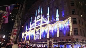Rockefeller Christmas Tree Lighting Performers by Rockefeller Christmas Tree Lighting And Saks Building 2015 Youtube