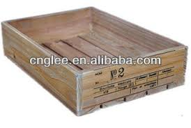 Gray Wooden Crate For Sale