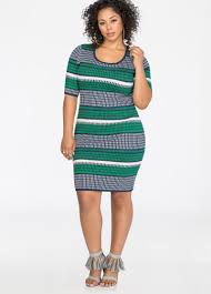 jacquard bodycon sweater dress plus size sweater dresses ashley