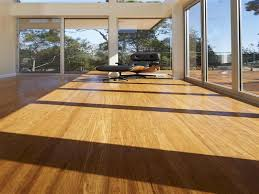 Strand Woven Bamboo Flooring Problems by Flooring Ideas Living Room With Glass Wall And Black Leather