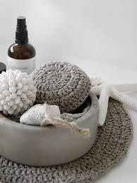 diy boho accessoires für das badezimmer häkeln mxliving