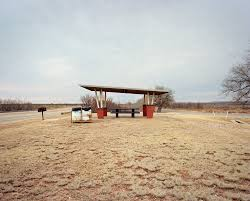 Justiceburg Texas Photograph By Ryann Ford From The Last Stop Vanishing Rest Stops Of American Roadside Published PowerHouse Books