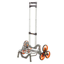 Upcart 125-Lb Black Aluminum Stair Climbing Hand Truck Mpc-1Dx From ...