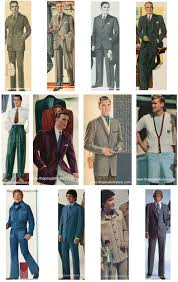 Mens Clothing Styles Examples Through The Decades