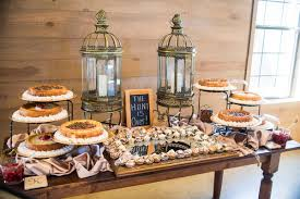 The Dessert Table Was Filled With Plenty Of Sweet Treats Venue Barn At