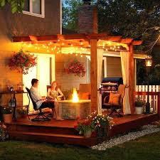 Best 25 Outdoor Patio Lighting Ideas Pinterest Garden Inside